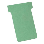 Nobo T-Cards A50 Size 2 Light Green (100) index card