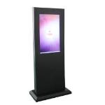 """Peerless KIP555-EUK 55"""" Fixed Black flat panel floorstand"""