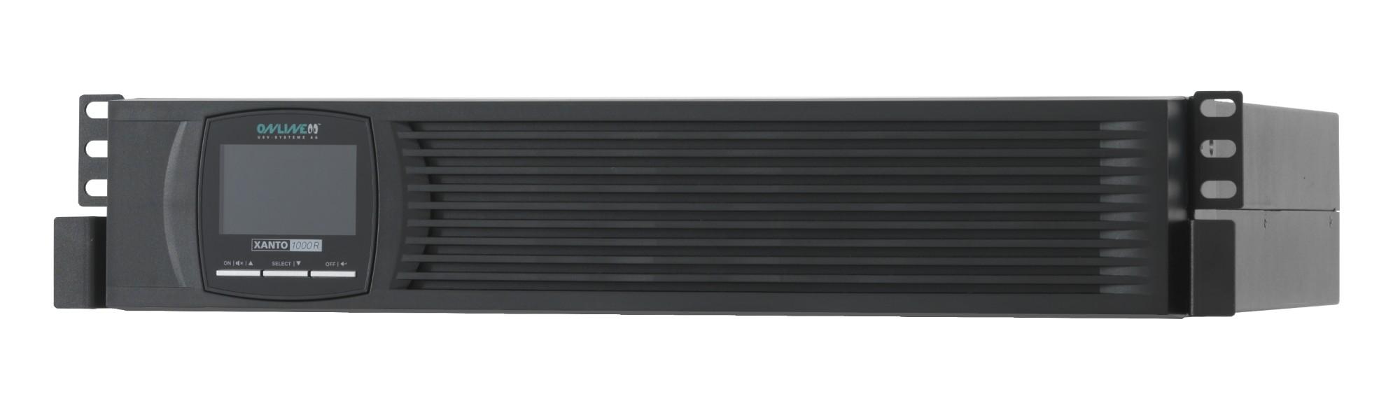 ONLINE USV-Systeme XANTO 1000R uninterruptible power supply (UPS) Double-conversion (Online) 1000 VA