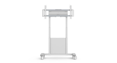 SMS Smart Media Solutions Func Mobile Motorized Portable flat panel floor stand White