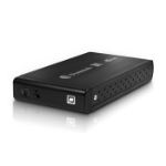 "Dynamode USB-HD3.5-BN 3.5"" Black HDD/SSD enclosure"
