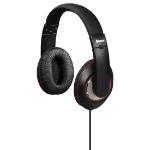 Hama HK6103 Black, Red Circumaural Head-band headphone