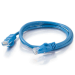 C2G Cat6a STP 1m 1m Blue networking cable
