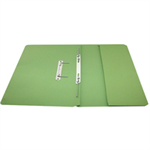 Rexel Jiffex Foolscap Transfer File With Pocket Green (25)