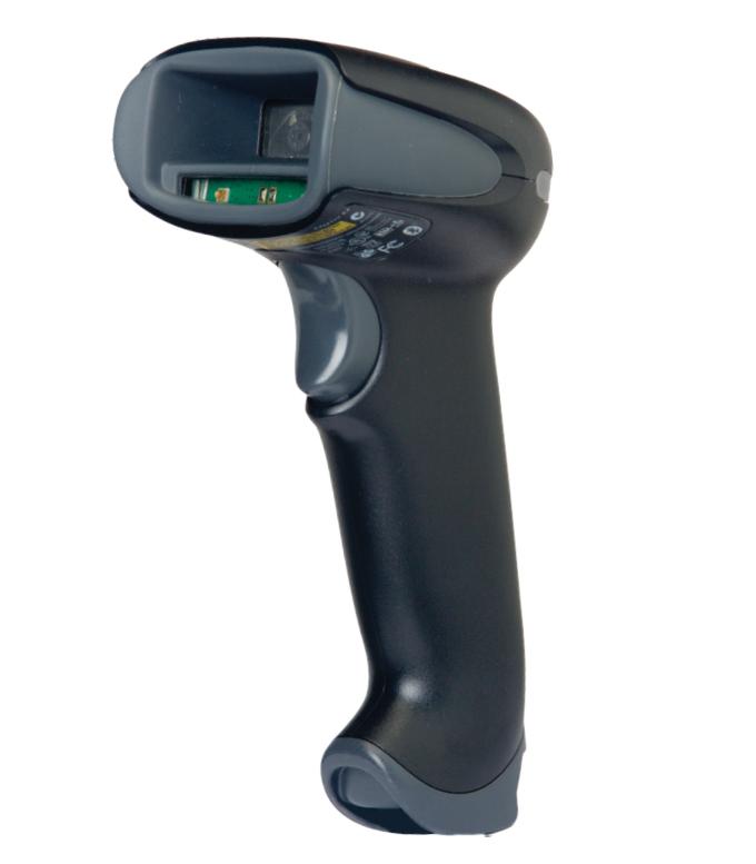 Honeywell 1900gSR-2-COL Lector de códigos de barras portátil 1D/2D Laser Negro, Gris