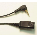 POLY 43038-01 audio cable 2.5mm Black