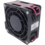 HP 591208-001 Computer case Fan 9.2 cm Black, Red