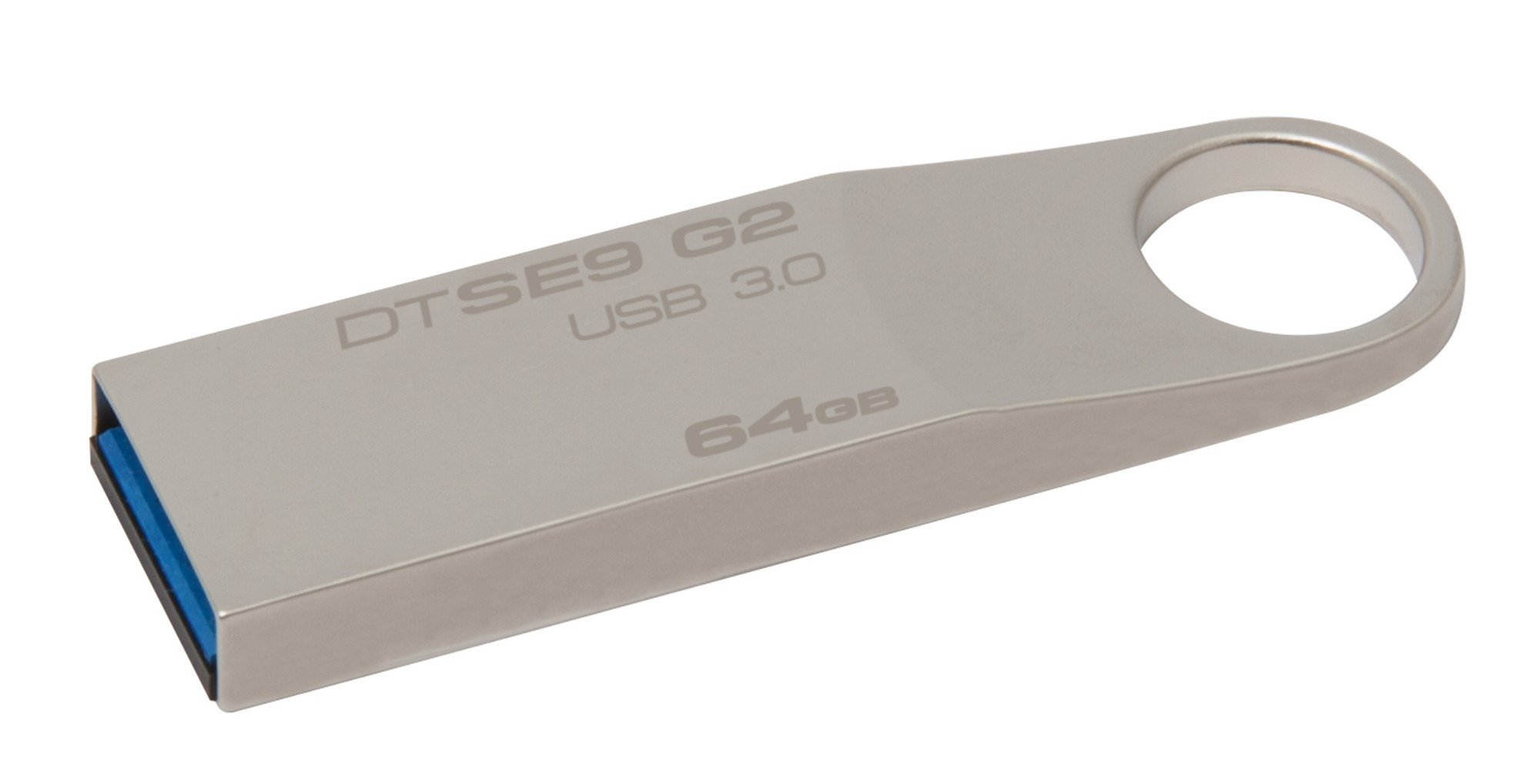 Kingston Technology DataTraveler SE9 G2 64GB unidad flash USB USB tipo A 3.2 Gen 1 (3.1 Gen 1) Plata