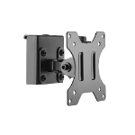 Brateck Slatwall Pivot Monitor Mount, for 13'-27', Up to 6.5kg/Screen