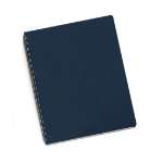 Fellowes Executive Presentation Covers - 50 pack Vinyl Navy 50pcs binding cover