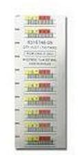 Quantum 3-04307-11 White barcode label