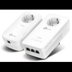 TP-LINK AV1200 1200Mbit/s Ethernet LAN Wi-Fi White 2pc(s) PowerLine network adapterZZZZZ], TL-WPA8630P KIT