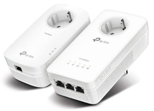TP-LINK AV1200 1200 Mbit/s Ethernet LAN Wi-Fi White 2 pc(s)