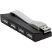 Targus 4 Port USB Hub - Black (ACH114EU)