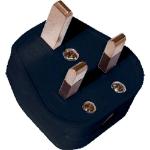Cablenet UK Mains Plug 13Amp Black (BS1363)