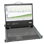 Tripp Lite 1U Rackmount Console with 19-in. LCD, Short-Depth