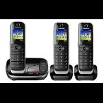 Panasonic KX-TGJ323E DECT telephone Black Caller ID