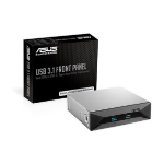 ASUS USB 3.1 FRONT PANEL Dual 10Gbit/s Backward-Compatible USB 3.1 Gen 2 Type-A Ports For PC's Front Pane