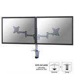 "Newstar FPMA-D1330DSILVER 27"" Silver flat panel desk mount"
