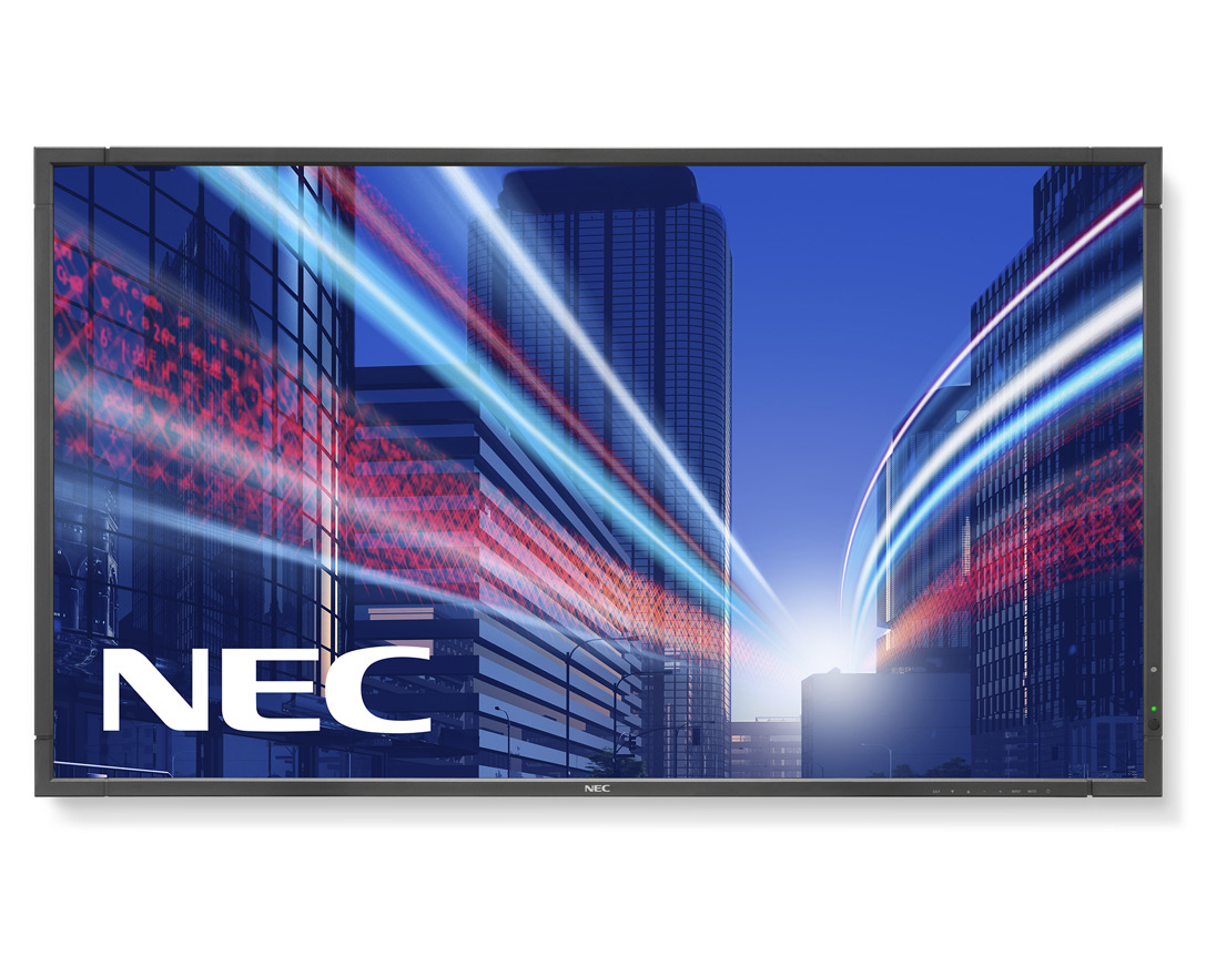 "NEC MultiSync X754HB Digital signage flat panel 75"" LED Full HD Black"