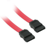 """C2G 7-pin Serial ATA Device Cable 18"""" SATA cable 18.1"""" (0.46 m) Red"""