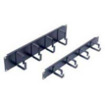 FDL 4 RING 19 Inch CABLE MANAGER - 2U, BLACK