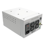 Tripp Lite IS300HGDV Isolator Series Dual-Voltage 115/230V 300W 60601-1 Medical-Grade Isolation Transformer, C14 Inlet, 4 C13 Outlets