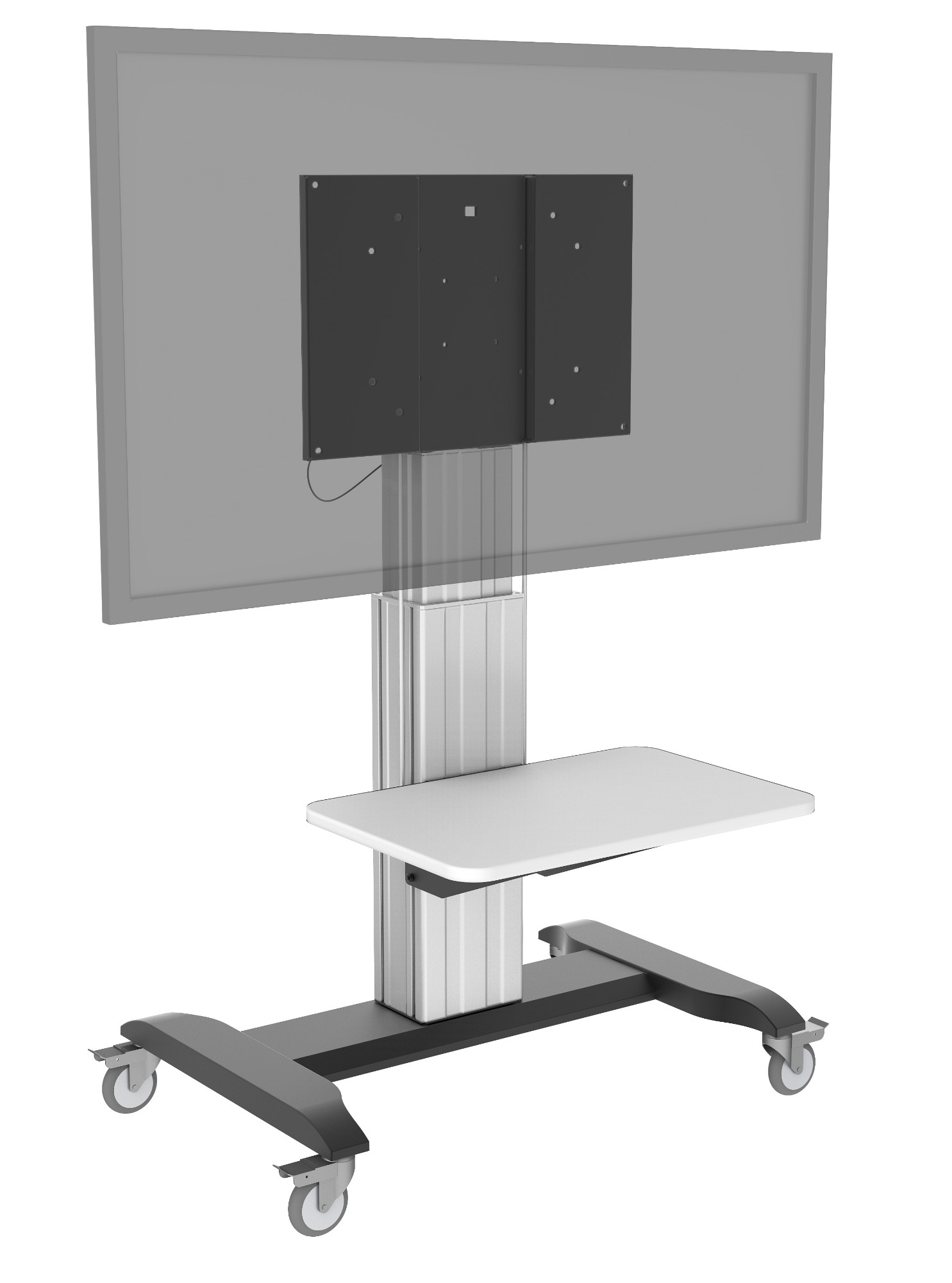 Vision TM-IFP SHELF flat panel floorstand