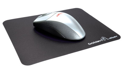 ROLINE Laser Mouse Pad black