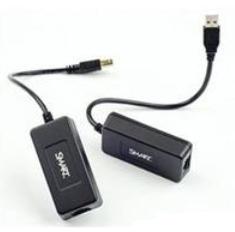 SMART Technologies CAT5-XT-1100 Network transmitter & receiver Black