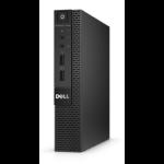 DELL OptiPlex 3020 Micro 3.1GHz i3-4160T 1.2L sized PC Black
