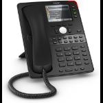 Snom D765 IP phone Black TFT