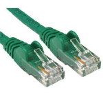 Cables Direct 99LHT6-601.5G networking cable 1.5 m Cat6 U/UTP (UTP) Green