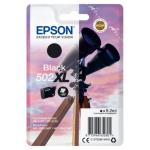 Epson C13T02W14010 (502XL) Ink cartridge black, 550 pages, 9ml