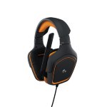 Logitech G231 Prodigy headset Binaural Head-band Black, Orange