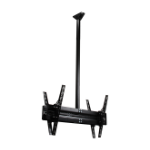 "B-Tech BT8429-200/B 65"" Black flat panel ceiling mount"