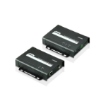 Aten VE802 AV extender AV transmitter & receiver Black