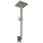 """Xvision LCDCMPT-S 23"""" Grey flat panel ceiling mount"""