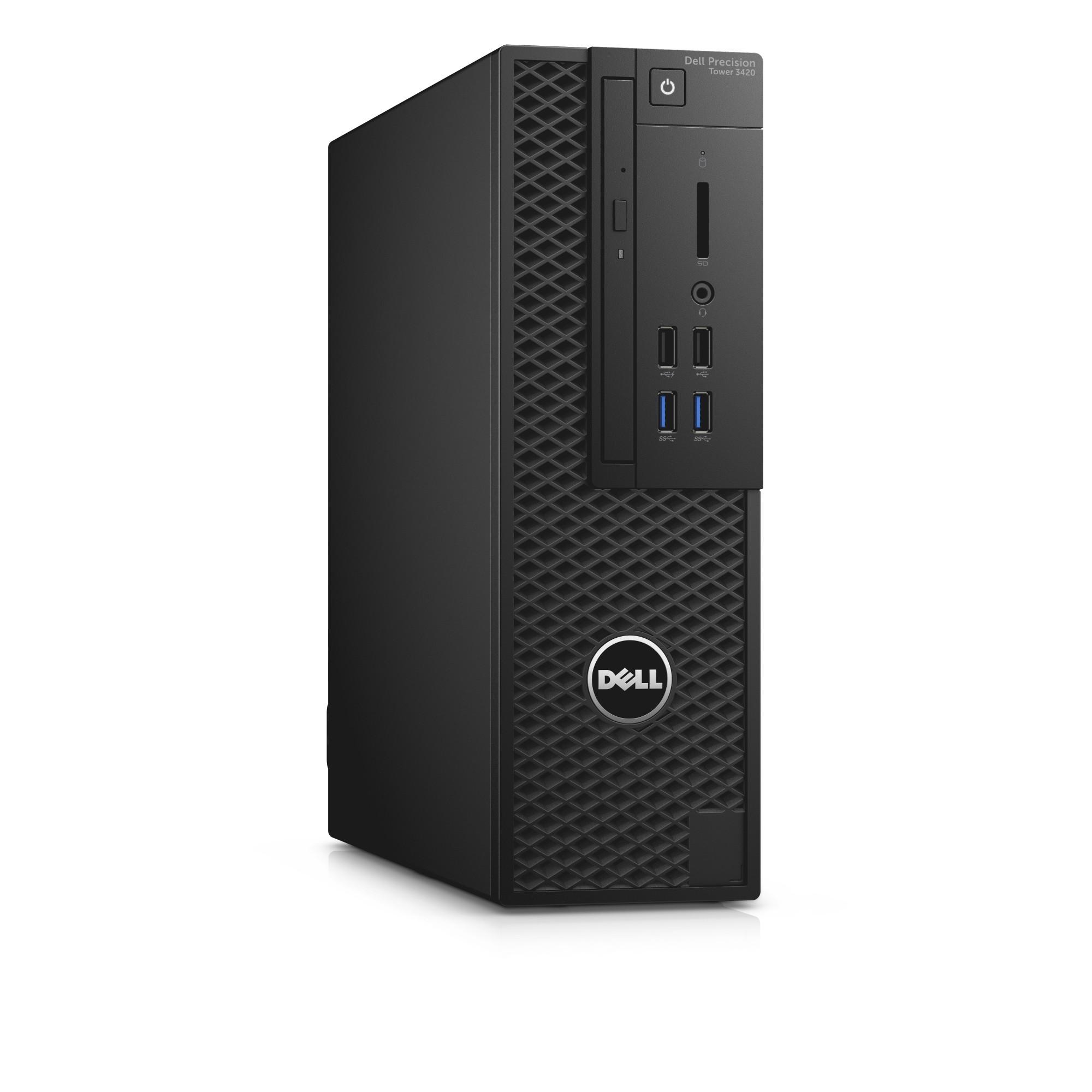DELL Precision T3420 3.2GHz i5-6500 SFF Black Workstation