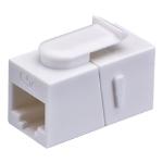 Cablenet Cat5e UTP Female-Female Keystone White