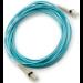 Hewlett Packard Enterprise 30m LC/LC OM3 30m LC LC Blue fiber optic cable