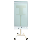 "Newstar NS-SKM300WHITE flat panel vloer standaard Portable flat panel floor stand Wit 106,7 cm (42"")"