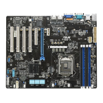 ASUS P10S-X server/worksation motherboard server-/werkstationmoederbord LGA 1151 (Socket H4) Intel® C232 ATX