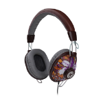 G-Cube City Head-band Binaural Wired Brown mobile headset