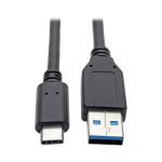 "Tripp Lite U428-006 USB cable 72"" (1.83 m) USB C USB A Black"