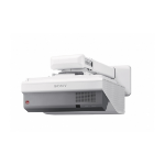 Sony VPL-SW631 Wall-mounted projector 3300ANSI lumens 3LCD WXGA (1280x800) Grey,White data projector