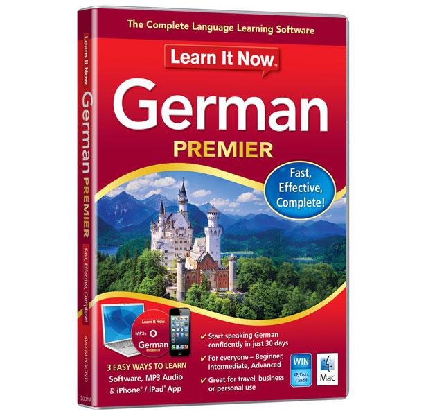 Avanquest Learn It Now German Premier