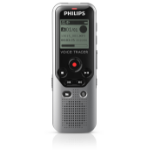 Philips Voice Tracer 1200 Internal memory & flash card Black,Silver dictaphone