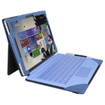 Urban Factory Elegant Folio Case for Microsoft Surface Pro 4, Bright Blue
