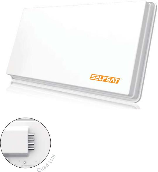 Selfsat H30D4+ Quad Antenna